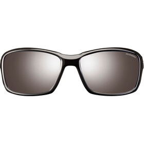 Julbo Whoops Polarized 3 Occhiali da sole, shiny black-gray flash silver